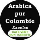 Café vert Colombie Medellin Excelso - non torréfié
