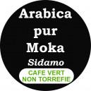 Café Moka Sidamo - non torréfié