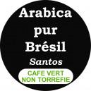 Café Bresil Santos - non torréfié