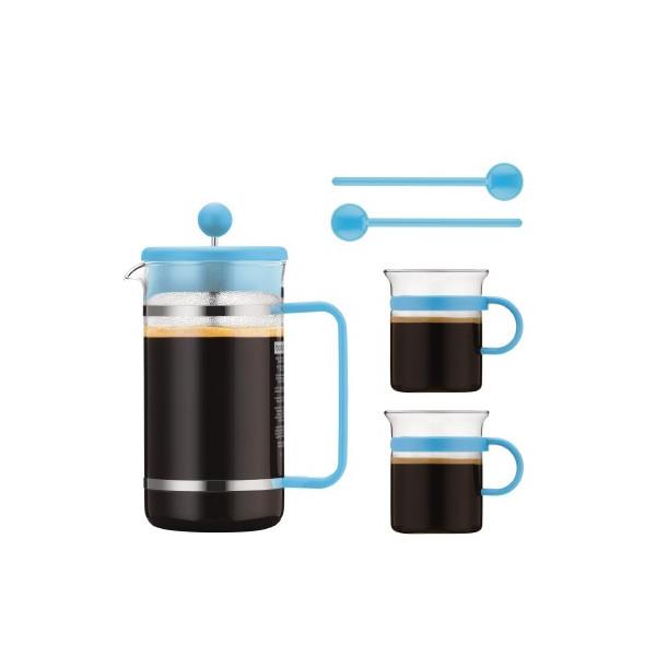 Cafeti re piston 1 litre et 2 tasses bodum caf s marc - Cafetiere a piston bodum ...