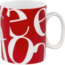 Mug Collage Rouge 30cl