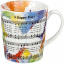 "Mug "" Oh Happy Day """
