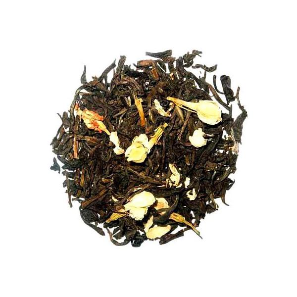 jasmin, thé vert de chine du yunnan aromatisé avec des fleurs de