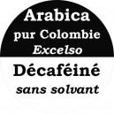 Café Décaféiné Colombie Excelso