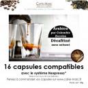 Café décaféiné Colombie en capsule