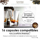 Assortiment mélanges maison en capsules