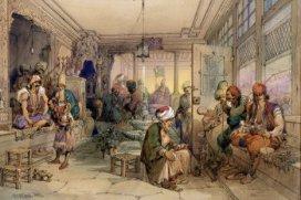 Premier café à Constantinople en 1554