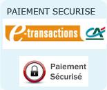 Paiement sécurisé CB par Paypal