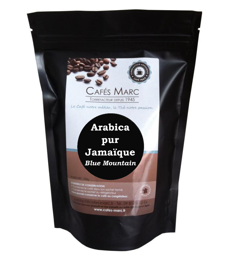 sachet de Café Jamaique blue Mountain