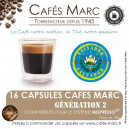 "Café Café Salvador Bourbon Finca ""Los Andes"" en capsules"