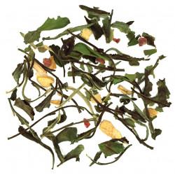 Thé blanc framboise citron