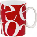Mug Collage Rouge 30cl