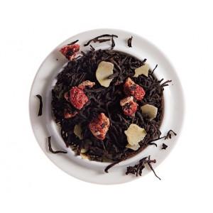 Thé noir Nombril du Moine (Macaron Fraise) - Comptoir Français du Thé