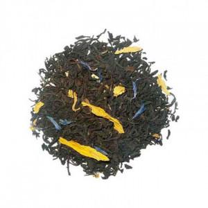 Thé noir Fraise & Rhubarbe Bio