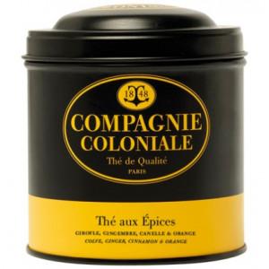 Thé aux Epices en boite métal Luxe Compagnie Coloniale