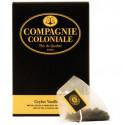 Thé vanille en sachets cristal Compagnie Coloniale