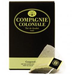 Thé vert Gunpowder en Sachet Cristal Compagnie Coloniale