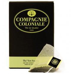 Thé Vert Sencha en Sachet Cristal Compagnie Coloniale
