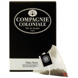 Thé Chine Extra en sachets cristal Compagnie Coloniale