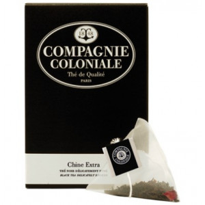 Thé Chine Extra en sachets cristal Compagnie Coloniale