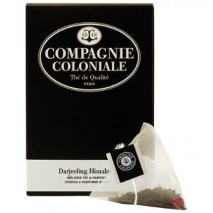 Thé Darjeeling Himalaya en sachets cristal Compagnie Coloniale