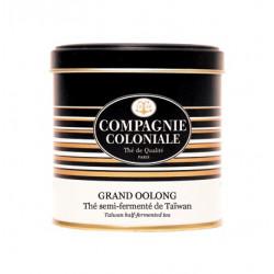 Thé Grand Oolong  en Boite Métal Luxe Compagnie Coloniale