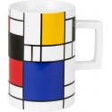 "Mug Hommage Mondrian "" Small """