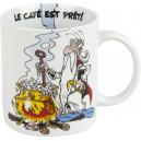 """Mug Asterix """" Le café est prêt """""""
