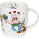 """Mug Astérix """" Obelix et Falbala """""""
