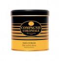 Thé noir citron en Boite Métal Luxe Compagnie Coloniale