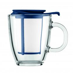 Tasse en Verre 0.35l avec filtre couleur - Bodum