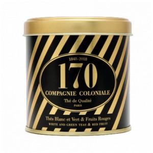 Thé 170 ans en Boite Métal Luxe - Compagnie Coloniale