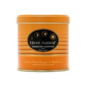 Rooibos Hiver Austral en Boite Métal Luxe - Compagnie Coloniale
