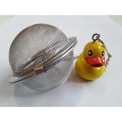"""Boule à thé tamis 5cm """" canard """""""