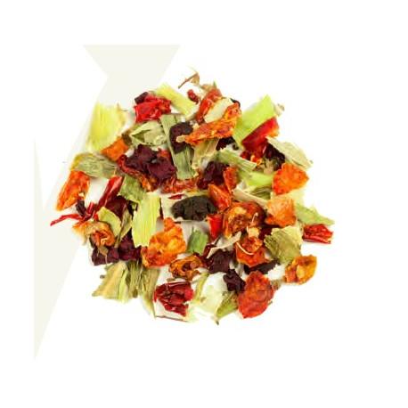 "Infusion aux légumes "" Rouge Tomate "" - Greender's Tea"