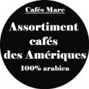 Assortiment café des Amériques