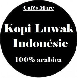 Café Kopi Luwak Indonésie
