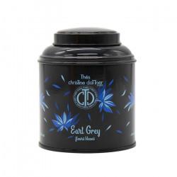 Thé noir Earl Grey Fleurs Bleues en boite laquée - ChrisTine DaTTner Paris depuis 1978