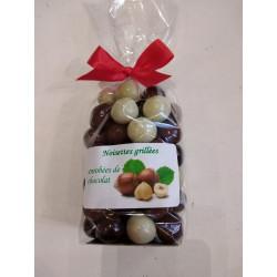 Noisettes enrobées de chocolat - Sachet 200g