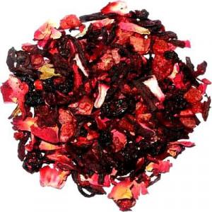 Infusion Carcadet Fraise Framboise - Greender's Tea