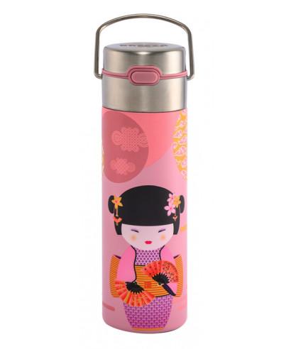 Théière Nomade double paroi 0.50l avec filtre - Little Geisha