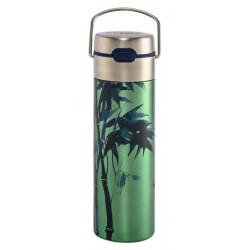 Théière Nomade double paroi 0.50l avec filtre - Bambou