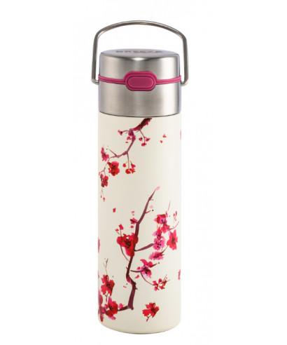 Théière Nomade double paroi 0.50l avec filtre - Cherry Blossom
