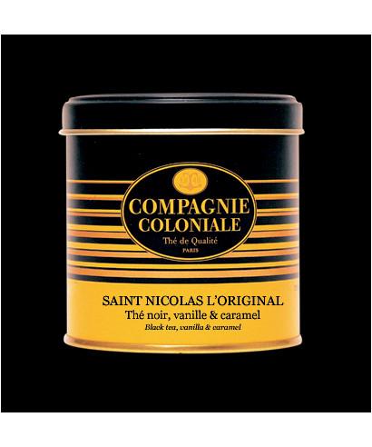 Thé noir Saint Nicolas en boite métal luxe - Compagnie Coloniale