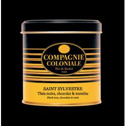 Thé noir Saint-Sylvestre en boite métal luxe - Compagnie Coloniale