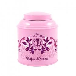 Thé vert Parfum de Femme en boite métal luxe - ChrisTine DaTTner Paris