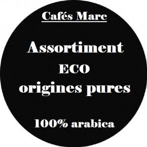Assortiment de cafés ECO
