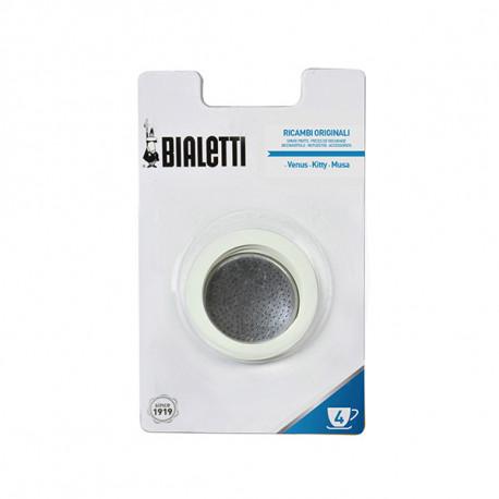 Joint et filtre pour cafetière Inox Bialetti