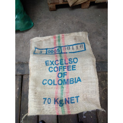 Sac à café en Toile Jute - Colombie Excelso