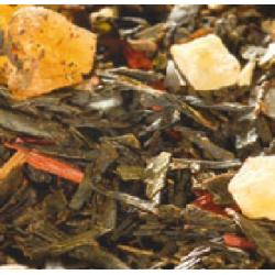 Thé vert Amande, Vanille et Rhum - Greender's Tea